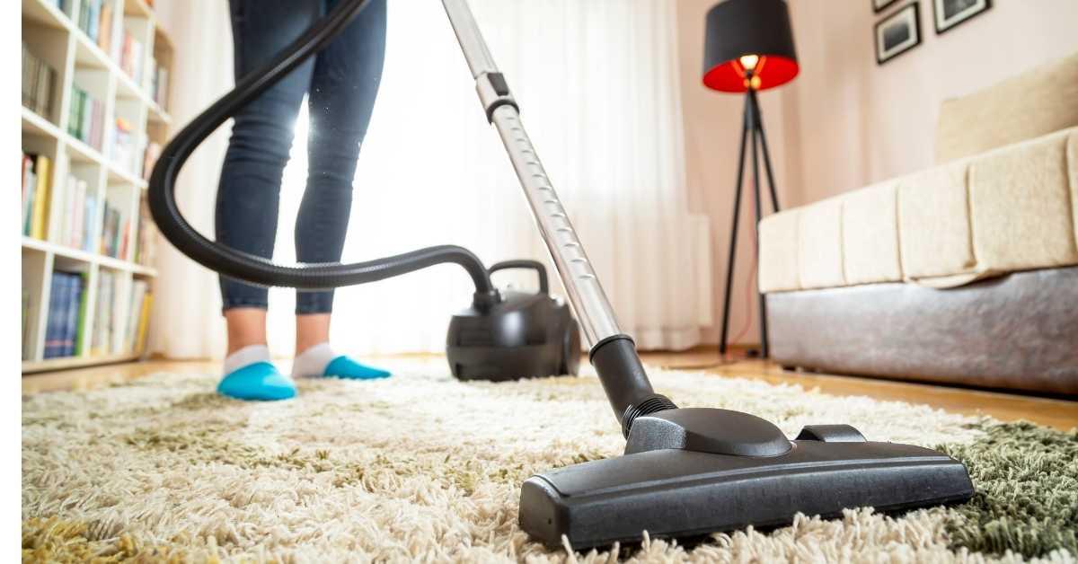 vacuum the carpet