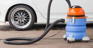 procedure of Vacuuming your Garage